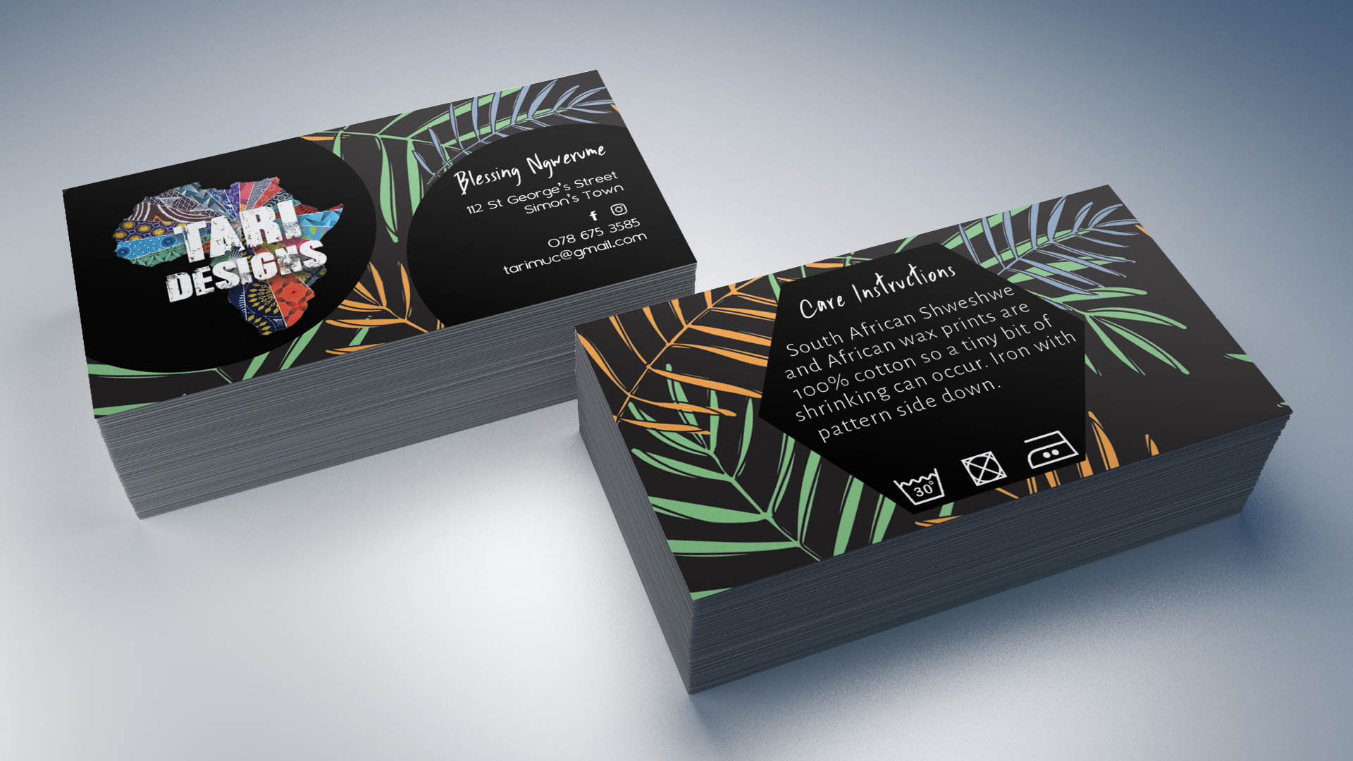 90 x 50 mm business card tari designs the socially savvy 90 x 50 mm business card tari designs reheart Choice Image
